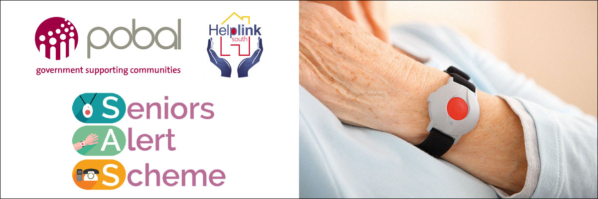 Seniors Alert Scheme with Pobal and Helplink South