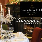 Christmas Lunch at Hannigans Restaurant (International Hotel)
